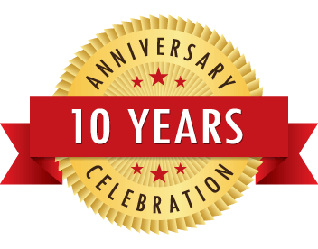 Celebrating 10th year!